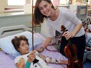 Hastalara senfoni sürprizi