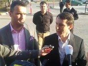 Hakim Metin Özçelik, avukatıyla adliyeye böyle geldi