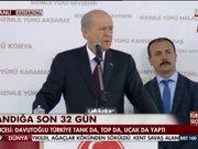 Bahçeli Davutoğlu'na yanıt verdi!