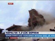 Nepal'de deprem!