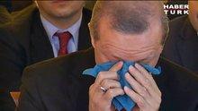 Erdoğan çiftü gözyaşlarını tutamadı!
