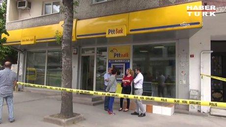 Güngören'de silahlı PTT soygunu