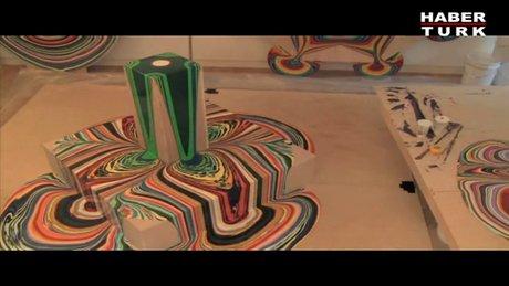 Hipnoz edici boyama sanatı!