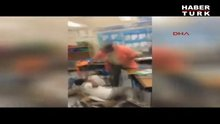 ABD'de okulda öğrencilere kemerle dayak kamerada