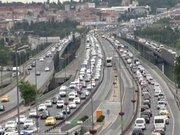 İstanbul'da miting trafiği
