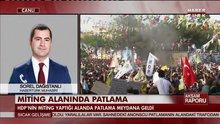 HDP'nin Diyarbakır mitinginde patlama meydana geldi