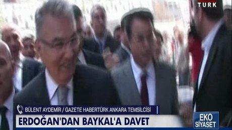 Erdoğan'dan Baykal'a davet!