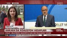 Ankara'da koalisyon hesapları