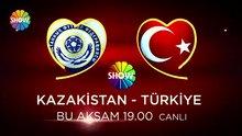 Kazakistan - Türkiye milli maçı
