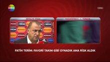Fatih Terim'den maç sonu açıklaması!
