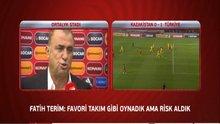 Fatih Terim ve Arda Turan maçı değerlendirdi