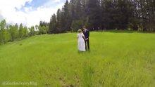 Düğün hikayesi çekerken