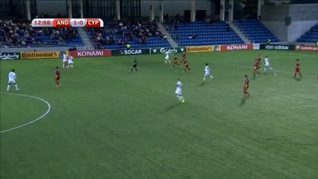 Andorra-Güney Kıbrıs: 1-3