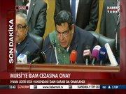 Mursi'ye idam cezasına onay!
