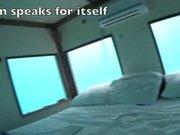 Su altında yatak odası