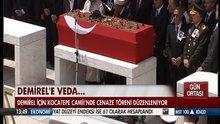 Demirel'in cenaze namazı