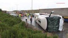 İzmir'de kaza 46 yaralı