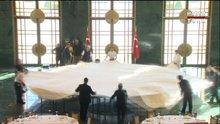Saray'ın iftar masası böyle kuruldu