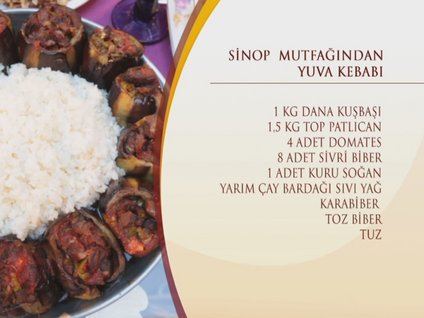 Sinop Mutfağı'ndan Yuva Kebabı