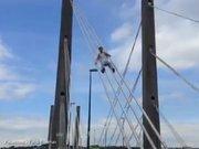 Köprüden kaydılar
