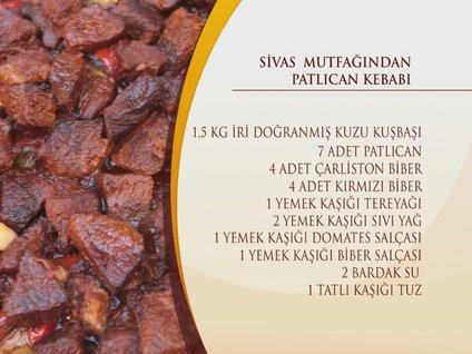 Sivas Mutfağı'ndan Patlıcan Kebabı