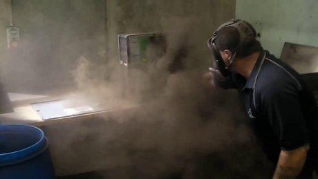 Bilgisayardan çıkan toz