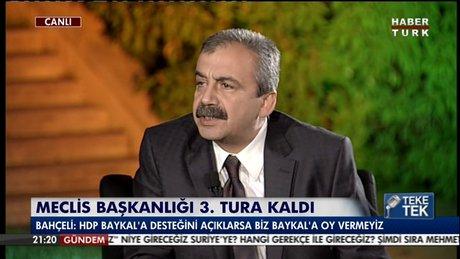 Sırrı Süreyya Önder'den önemli açıklamalar!