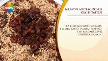 Malatya Mutfağı'ndan Kayısı Tatlısı