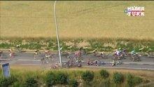 Fransa bisiklet turunda feci kaza
