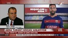 Arda Turan'ı hocası Fatih Terim anlatıyor
