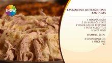 Kastamonu Mutfağı'ndan Banduma