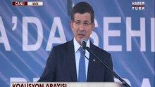 Ahmet Davutoğlu Van'da konuştu