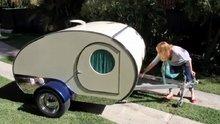 Portatif kamp arabası