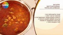 Mersin Mutfağından Topalak Çorbası