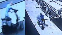 Camide motosiklet hırsızlığı