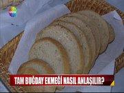 Gerçek tam buğday ekmeği