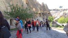 Kapadokya'da Japon turist şoku