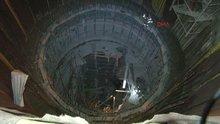 Metro inşaatına düştü