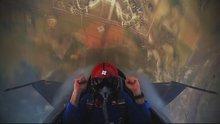 Türk pilot 45 saniyede 5 bin metreye çıktı