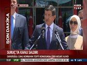Davutoğlu Suruç açıklaması