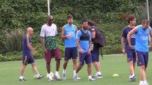 Arda Turan ile Kobe Bryant buluşması