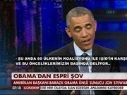 Obama'dan espri şov