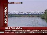 Işid sınırdaki köprüye saldırı!
