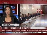 Başbakan Davutoğlu muhalefeti aradı