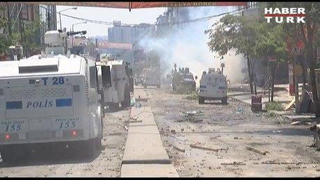Gazi Mahallesi'nde polis müdahalesi