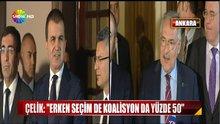 AKP-CHP koalisyon görüşmesi