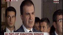 AKP-CHP koalisyonu konuştu