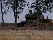 Karkamış sınırına tank sevkiyatı