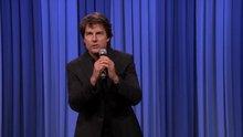 Tom Cruise playback yaptı