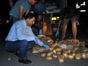 Kırıkkale'de patates arası eroin ele geçirildi